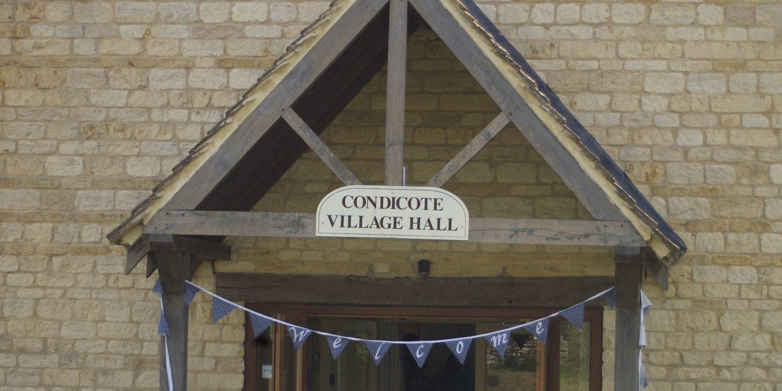 Condicote Village Hall 1
